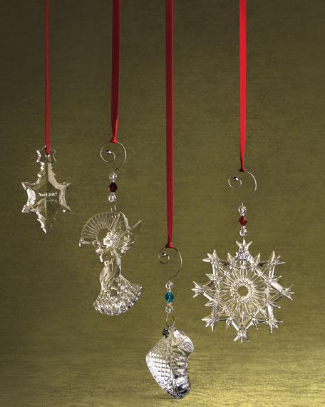 2017 Annual Noel Crystal Ornament, Clear