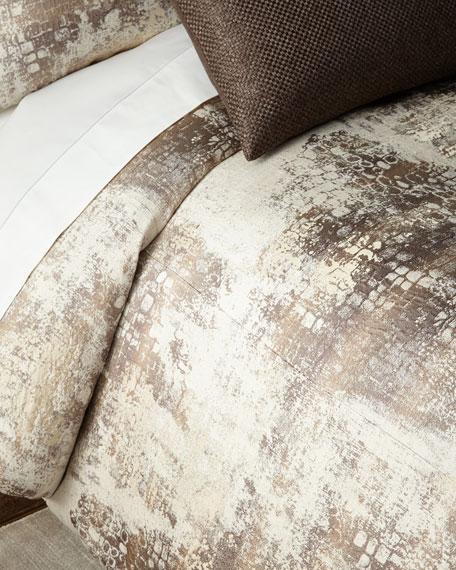 Fino Lino Linen & Lace Amazonia King Duvet