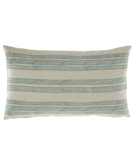 Bally Striped Decorative Pillow