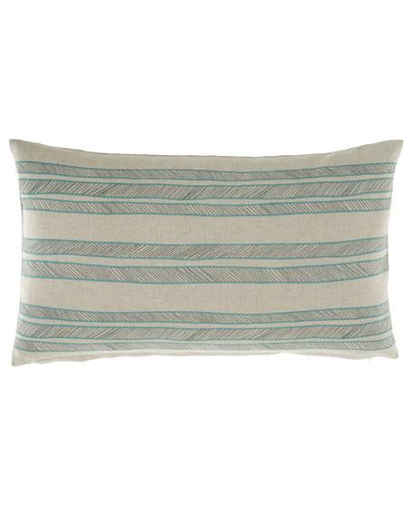 Bally Striped Decorative Pillow