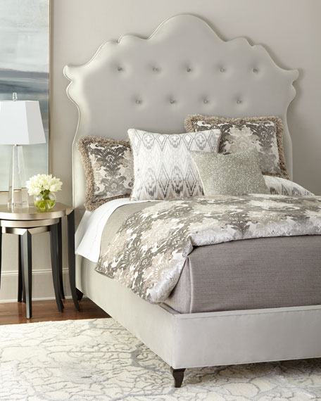 Haute House Arabella Tufted California King Bed and