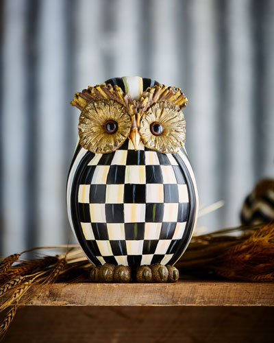 Courtly Check Owl