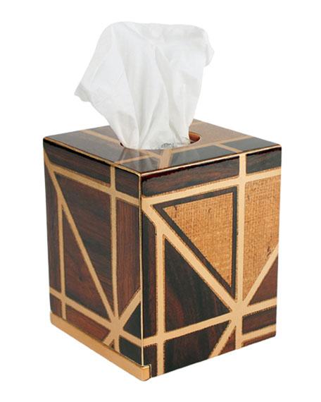 Parquet Tissue Box