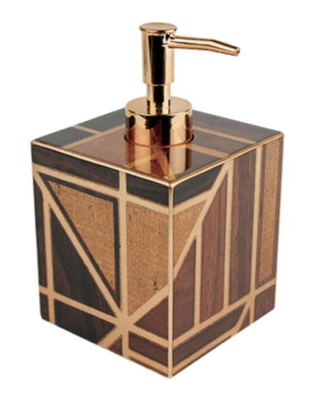 Parquet Soap Dispenser
