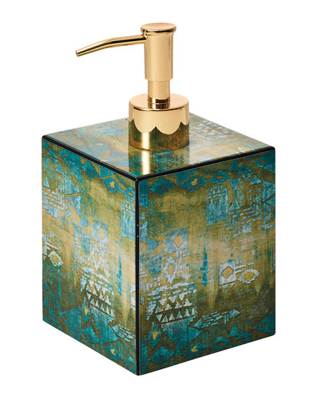 Kim Seybert Mirage Soap Dispenser