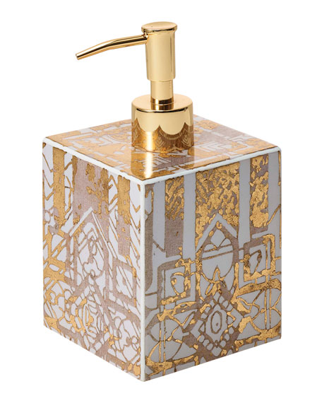 Kim Seybert Distressed Soap Dispenser
