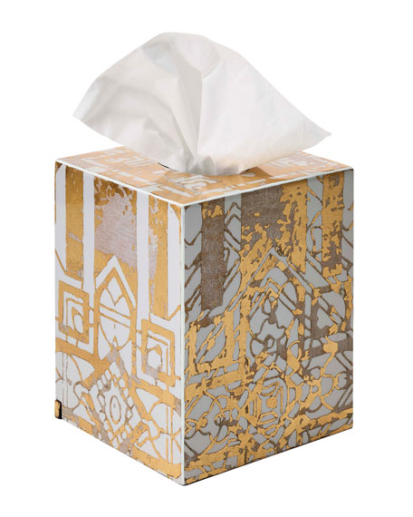 Kim Seybert Distressed Tissue Box