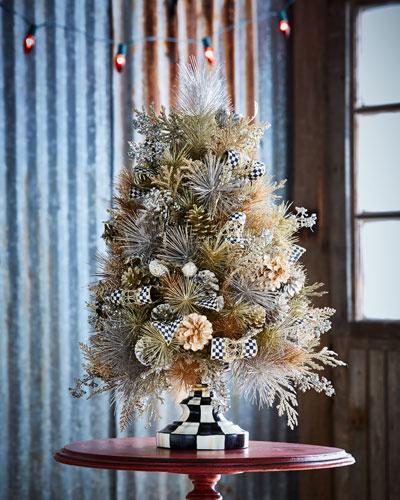 Precious Metals Tabletop Tree
