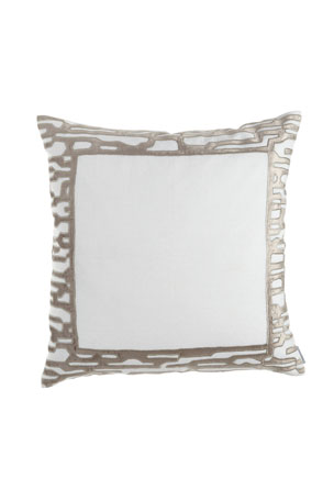 "Lili Alessandra Christian European Pillow, 28""Sq."
