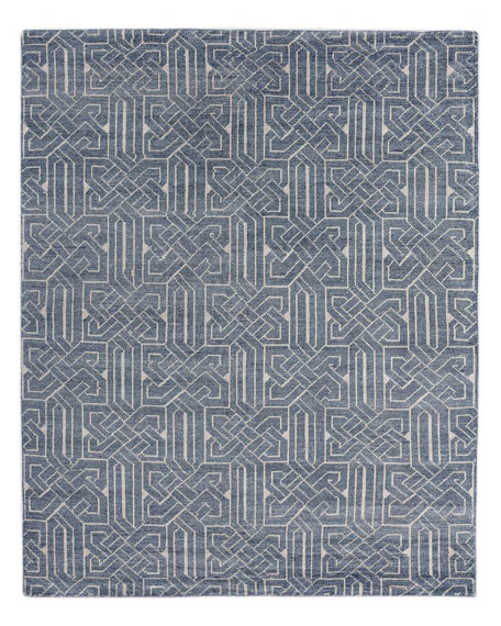 Gaylin Hand-Knotted Rug, 10' x 14'