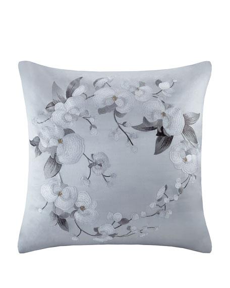 White Orchid European Sham