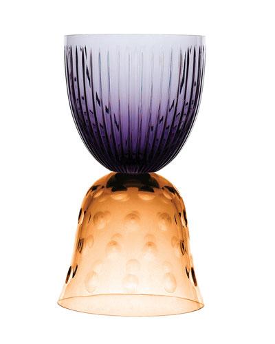 Les Endiablés Crystal Glass