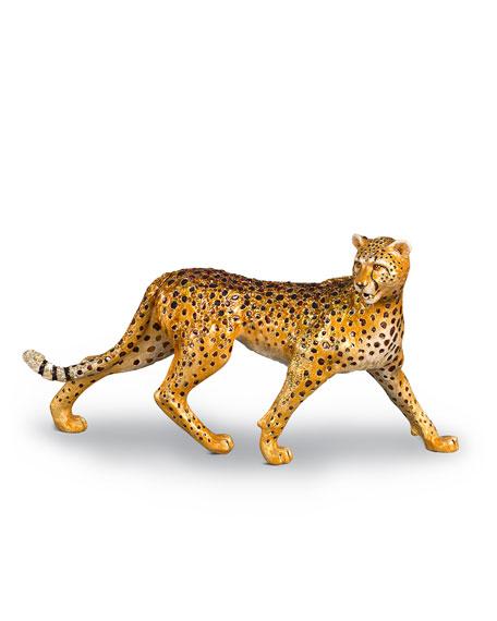 Jay Strongwater Swarovski® Cheetah Figurine
