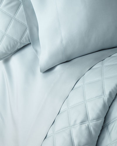 Silken Solid Queen Sheet Set