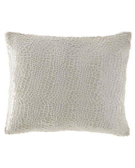 Pine Cone Hill Gloss Velvet Decorative Pillow, 16
