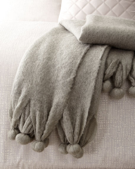 Pine Cone Hill Pompom Throw Blanket