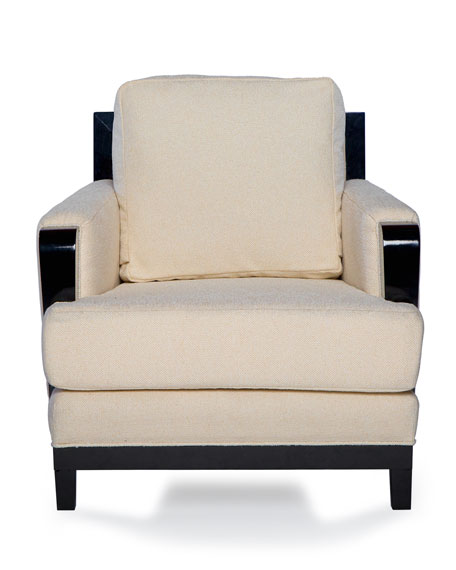Badgley Mischka Home Becks Lounge Chair