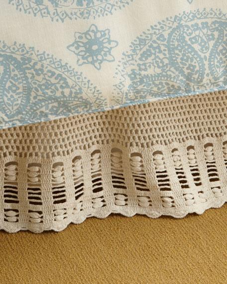 Pine Cone Hill Queen Corossol Crochet Dust Skirt