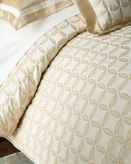Dian Austin Couture Home Circumference King Coverlet