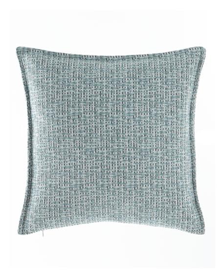 """Mallory Basketweave Pillow, 18""""Sq."""