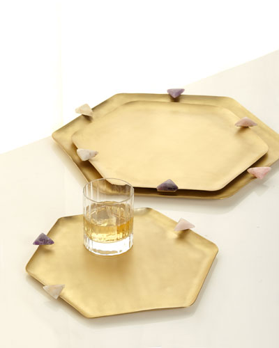 UNI HEXAGON TRAY SET 3 W STO