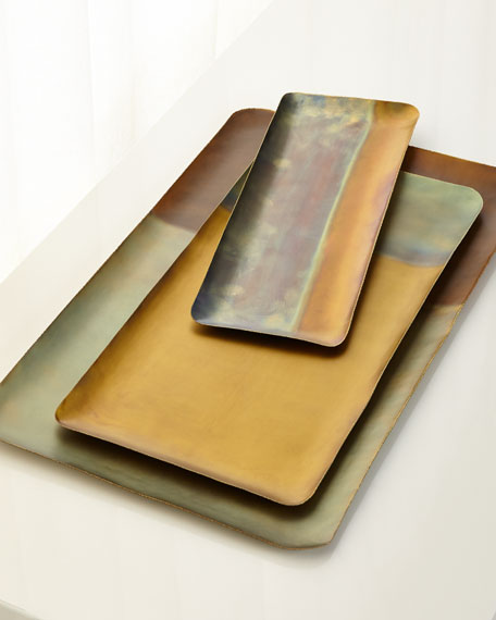 Patina Horizon Trays, Set of 3