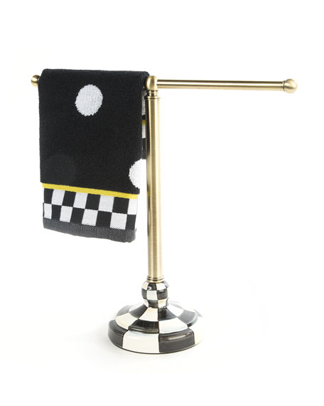 Courtly Check Tea Towel Stand