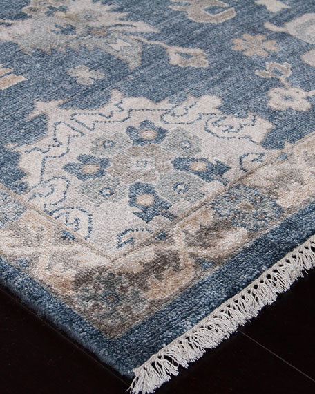 Kira Hand-Knotted Rug, 6' x 9'