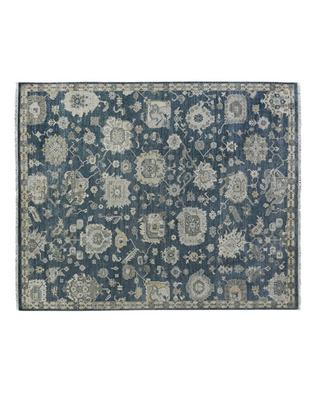 Kira Hand-Knotted Rug, 9' x 12'