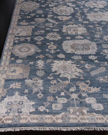 Exquisite Rugs Kira Hand-Knotted Rug, 10' x 14'