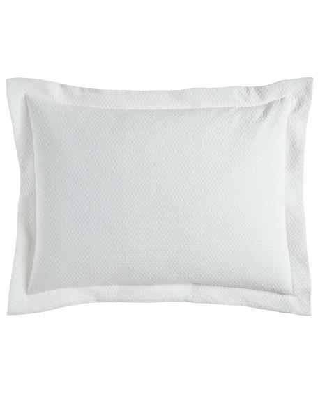 Standard Layered Texture Matelasse Sham