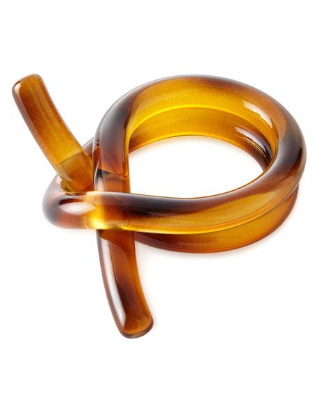 Juliska Tortoise Knot Napkin Ring