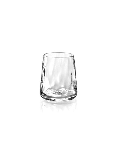 Ripple Effect Double Old-Fashioneds, Set of 4