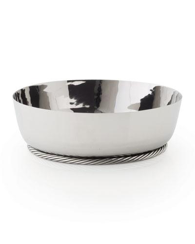 Twist Low Serving Bowl