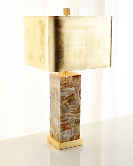 Onyx Table Lamp