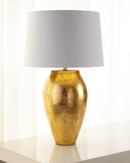 Goldfoil Table Lamp