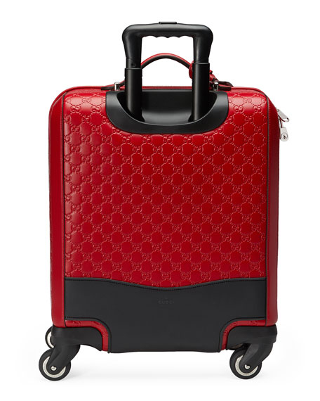 GG Signature Carry-On Trolley, Red