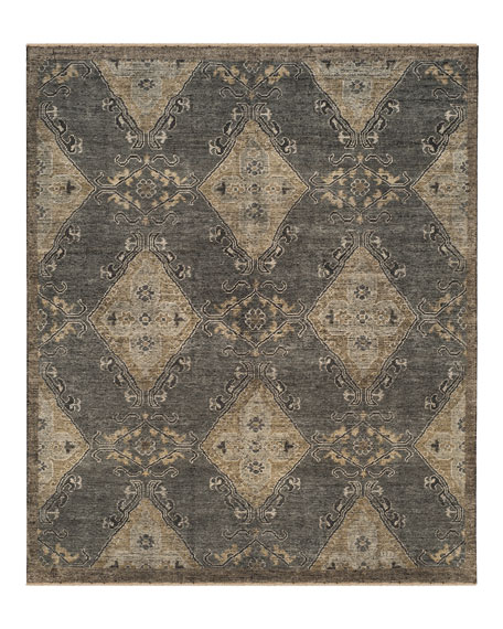 Idalee Hand-Knotted Rug, 8' x 10'