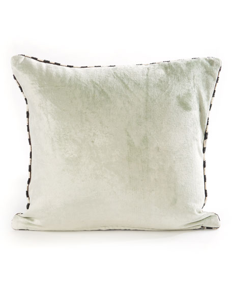 Houndstooth Beaded Pillow