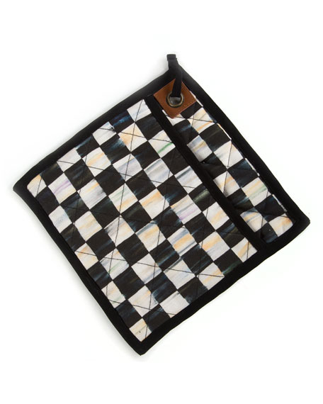 MacKenzie-Childs Courtly Check Bistro Pot Holder