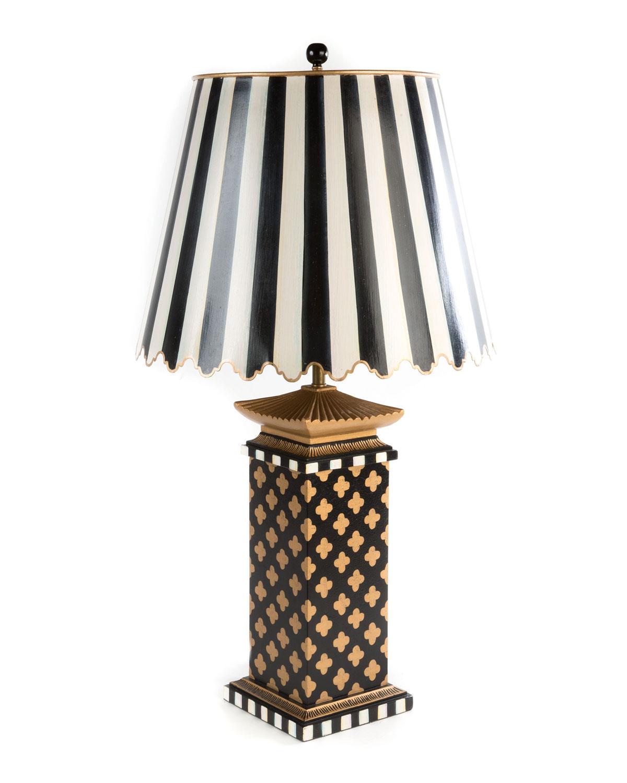 Quatrefoil Large Table Lamp by Mac Kenzie Childs