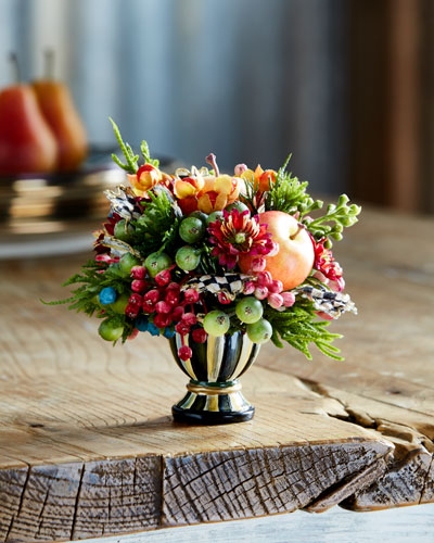 Autumn Sunset Nosegay Faux-Floral Arrangement