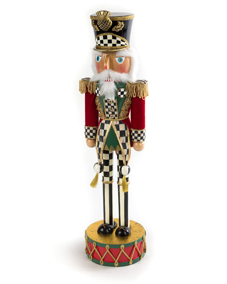 MacKenzie-Childs Highland Nutcracker, 12.5