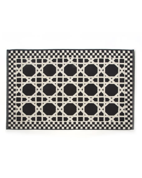 MacKenzie-Childs Trellis Bath Mat