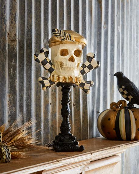MacKenzie-Childs Elizabethan Skull