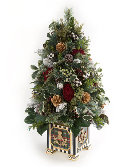 MacKenzie-Childs Highland Tabletop Tree