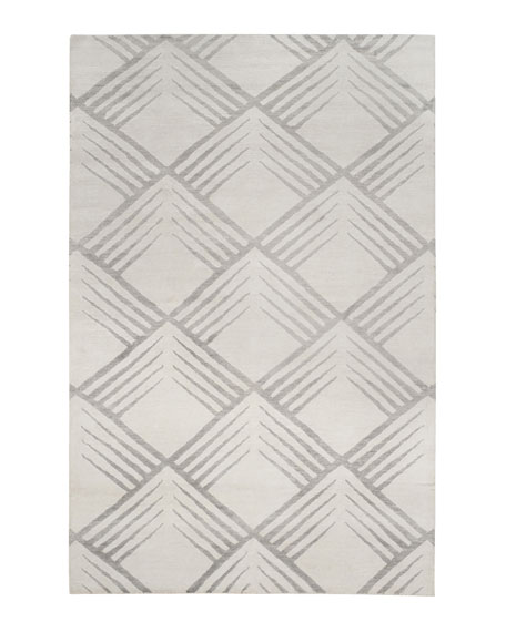 Rigmore Hand-Knotted Rug, 6' x 9'