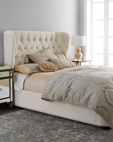 Monterey King Tufted Bed | Neiman Marcus
