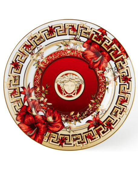 Christmas Blooms Bread & Butter Plate