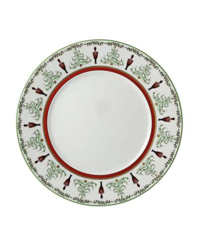 Grenadier Red Stripe Salad Plate